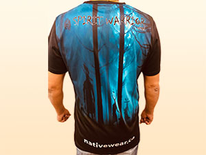 Spirit Warrior Wear offers native themed t-shirts, golf shirts and more.